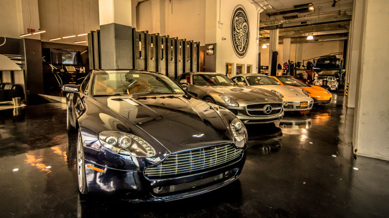 Fine car collections.