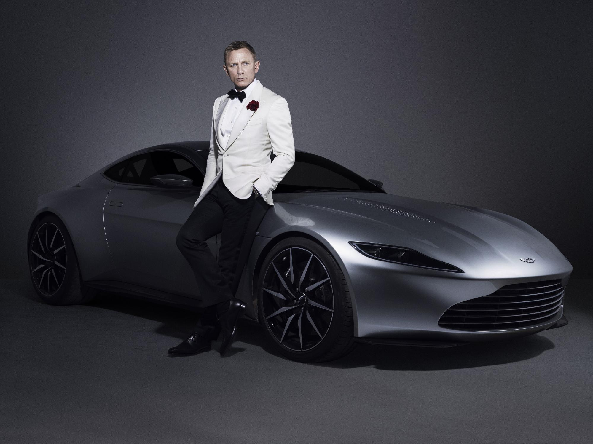 Aston Martin DB10 featured in Spectre with Daniel Craig.